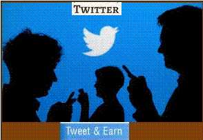Earn With Twitter, Online Earning, Home Based Earning