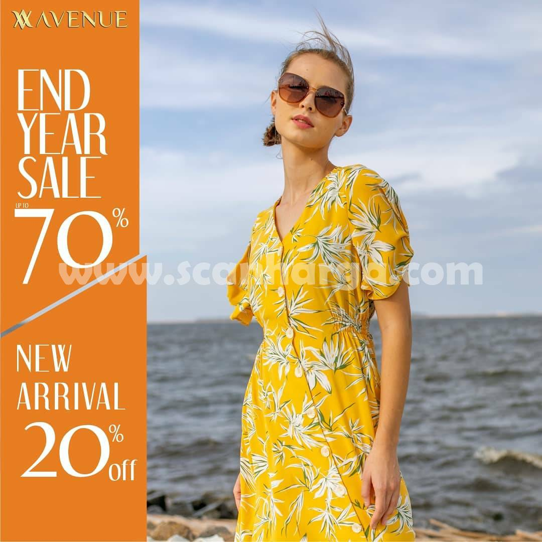 Avenue Clothing Promo End Of Year SALE Disc 70% & 20% Off New Arrival