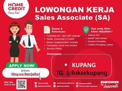 Lowongan Kerja Home Credit Indonesia Sebagai Sales Associate (SA)
