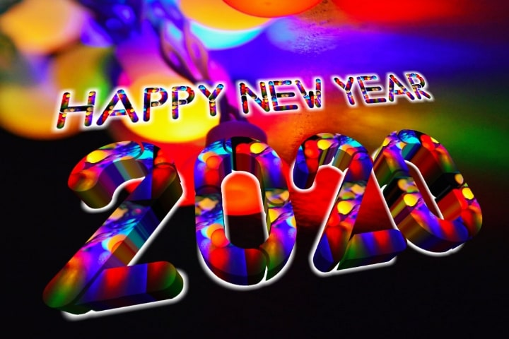 3d Happy New Year 2020 Images Hd Wallpaper 3d New Year 2020