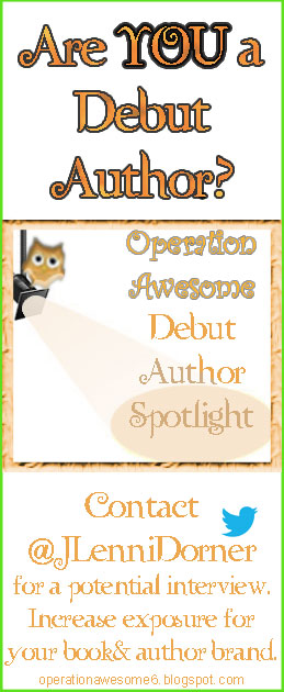 @JLenniDorner runs the Debut Author Spotlight at Operation Awesome. Share this image to help the next great author to be discovered!