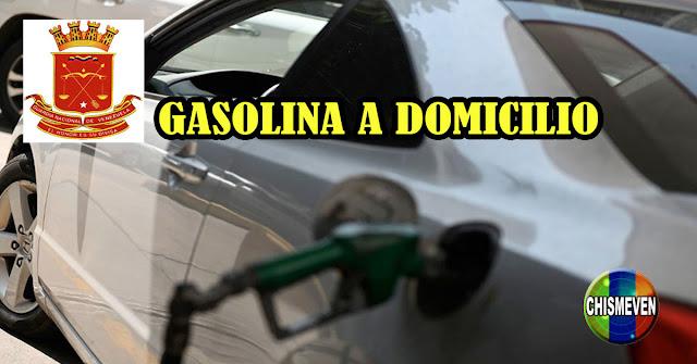 Militares del Régimen inician negocio ilegal de venta de Gasolina a domicilio por Whatsapp