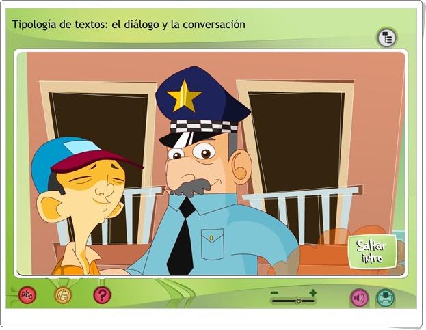 """""""El diálogo y la conversación"""" (Lengua española de Primaria)"""