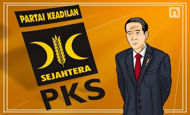 Ancam Merapat ke Jokowi, PKS Disorientasi?