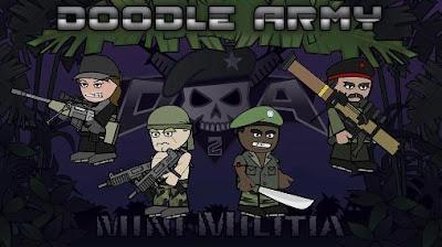 Mini Militia Doodle Army 2 Mod Apk Pro Pack Purchased
