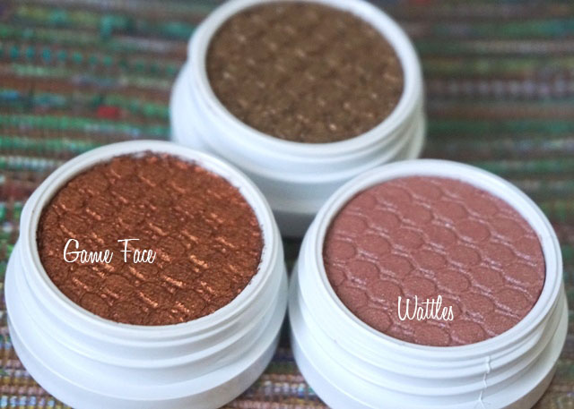 ColourPop Super Shock Shadows Game Face, Nillionaire, Wattles