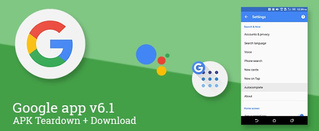 Google App v6.1 APK Update: With New Design Changes and More
