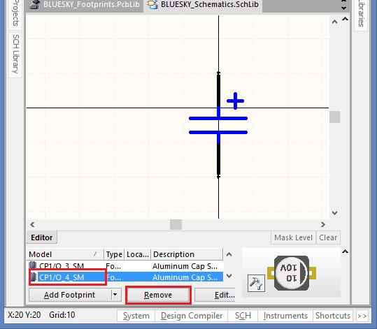 Lỗi không view được hình dáng 3D linh kiện 1