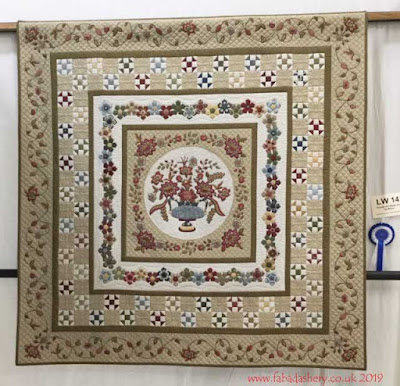 'Pendle Hill Meets Taj Mahal' by Barbara, quilted by Fabadashery Longarm quilting