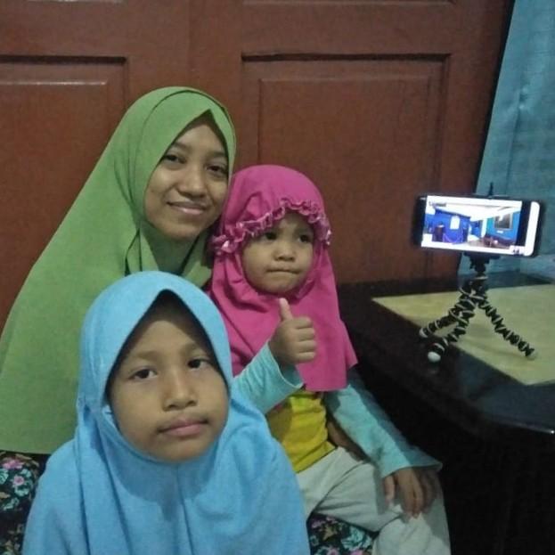 tur virtual dari rumah bersama anak