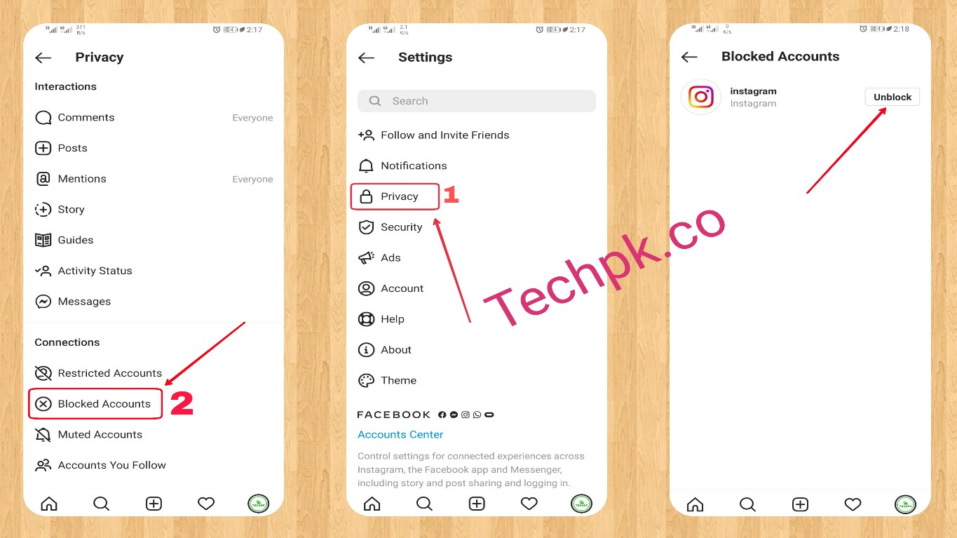 How to View Blocks on Instagram