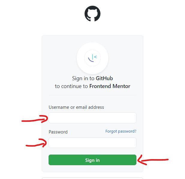 تسجيل الدخول عن طريق حسابك علي موقع Github