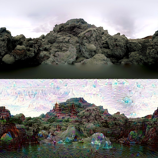 DeepDream - a code example for visualizing Neural Networks