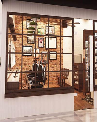 10 Desain barbershop mini sederhana namun keren ...