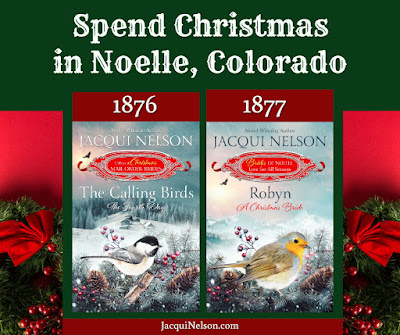 Spend Christmas in Noelle, Colorado, 1876 & 1877