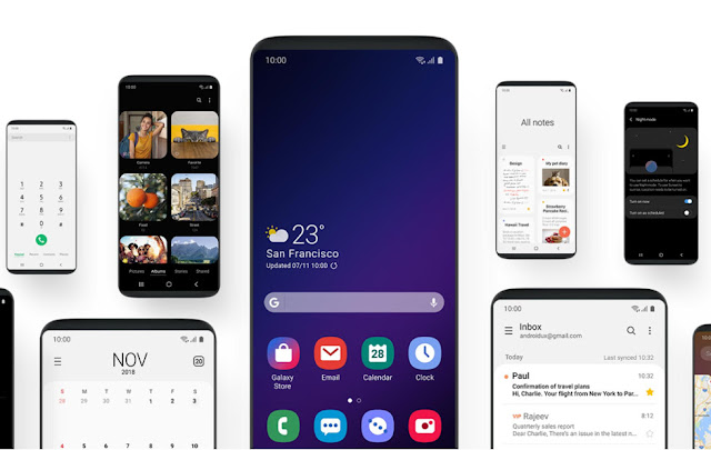Daftar Smartphone Samsung Android Pie