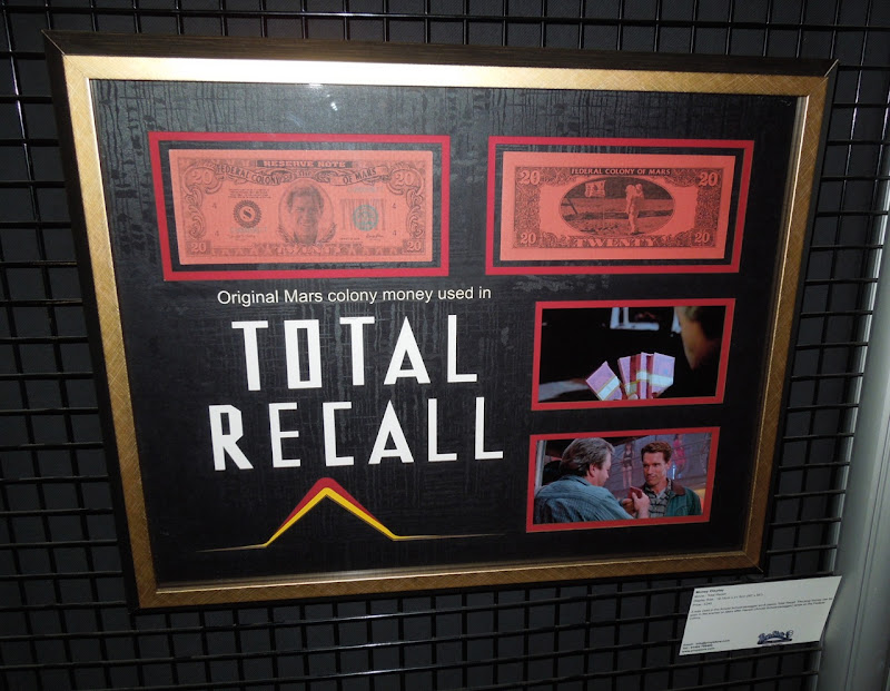 Martian money Total Recall props