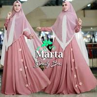 Jual Baju Busana Muslim Gamis Marta Syari