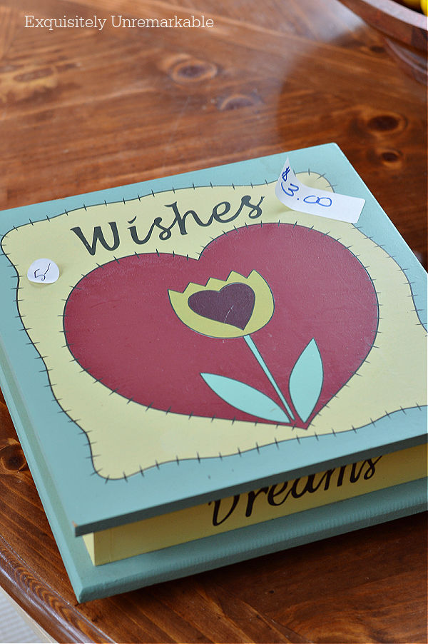 Wooden Wishes Box