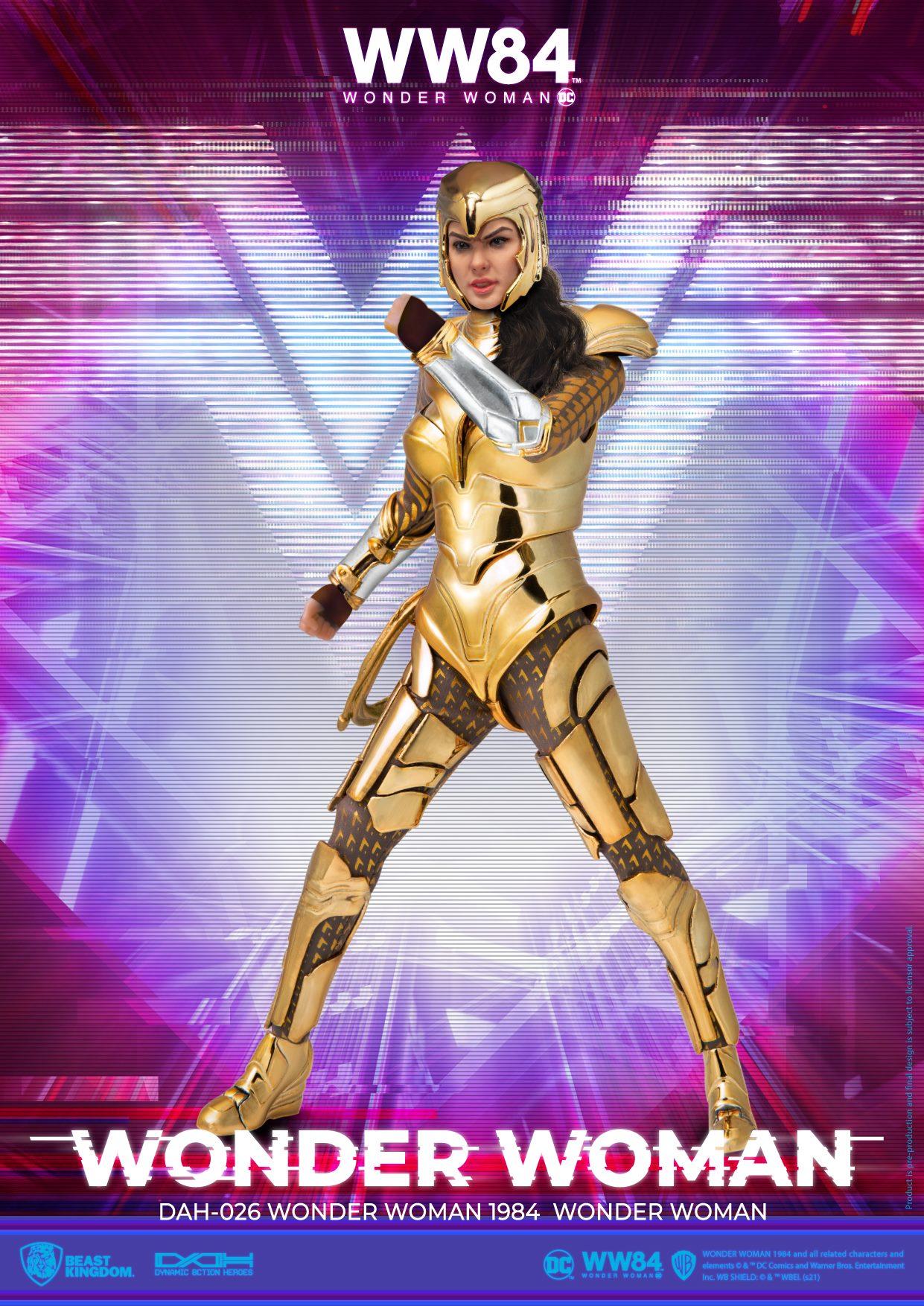 Wonder Woman Golden Armor