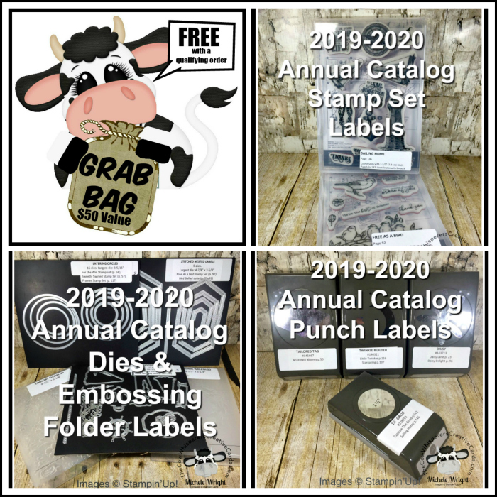 Grab Bag Special and FREE Download Label Files for the 2019-2020