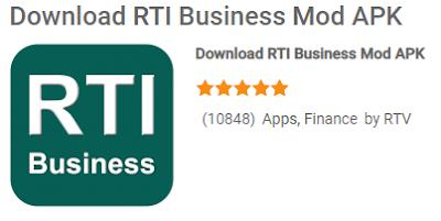RTI Business Mod Apk saat ini paling menjadi salah satu aplikasi paling super untuk menjalakan bisnis trading bagi trader pemula maupun trader yang sudah berpengalaman di platform android maupun PC.   Ada banyak fitur unggulan yang disajikan di RTI Business Mod Apk layak kamu coba sebagai pemain bisnis perdagangan saham, mulai dari fitur market,  Watchlist, news, dll.  Kalau kalian masih pemula menggunakan RTI Business Mod Apk untuk bermain bisnis trading maka kalian sangat tepat membaca artikel ini karena kami akan sajikan secara detail tentang RTI Business Mod Apk agar kalian lebih mudah mengenal aplikasi saham online ini.  Tentang RTI Business Mod Apk RTI Business Mod Apk adalah aplikasi saham termuka untuk bermain bisnis trading yang dibuat oleh developer RTV.   RTI Business saat ini menghadirkan pembaruan dari Pasar Saham Indonesia yang terdiri dari Data Keuangan, Analisi, Kutipan Harga, Grafik, Statistik Utama, Tindakan Korporasi, dan Berita lengkap tentang informasi tentang bisnis trading  yang akan dikirim ke platform trader.   Jadi bagi kalian yang ingin bermain bisnis trading RTI Business Mod Apk kalian harus coba download dan pakai aplikasi ini, nanti kami berikan link download RTI Business Mod Apk di artikel ini.  Fitur – Fitur RTI Business Mod Apk Bagi seorang trader tentu fitur RTI Business Mod Apk pasti akan dipertanyakan, jadi bagi kalian yang penasaran apa saja fitur RTI Business Mod Apk, silahkan kalian baca penjelasannya di bawah ini   1. Market Fitur ini membantu kalian agar dapat informasi pasar terkini terntang pergerakan IHSG dari hari ke hari bahkan dari tahun ke tahun untuk pasar saham di Indonesia dan negara yang lainnya.  2. Watchlist Fitur watchlist pada RTI Business Mod Apk ini akan membantu kalian dalam mengelolah dan mengkategorikan target saham yang sedang kamu pantau mulai dari stastistik kisaran harga saham dan yang lainnya.  3. Movers Fitur movers akan membantu kalian agar lebih mudah untuk melakukan Net Foreign Buy ataupun Net For