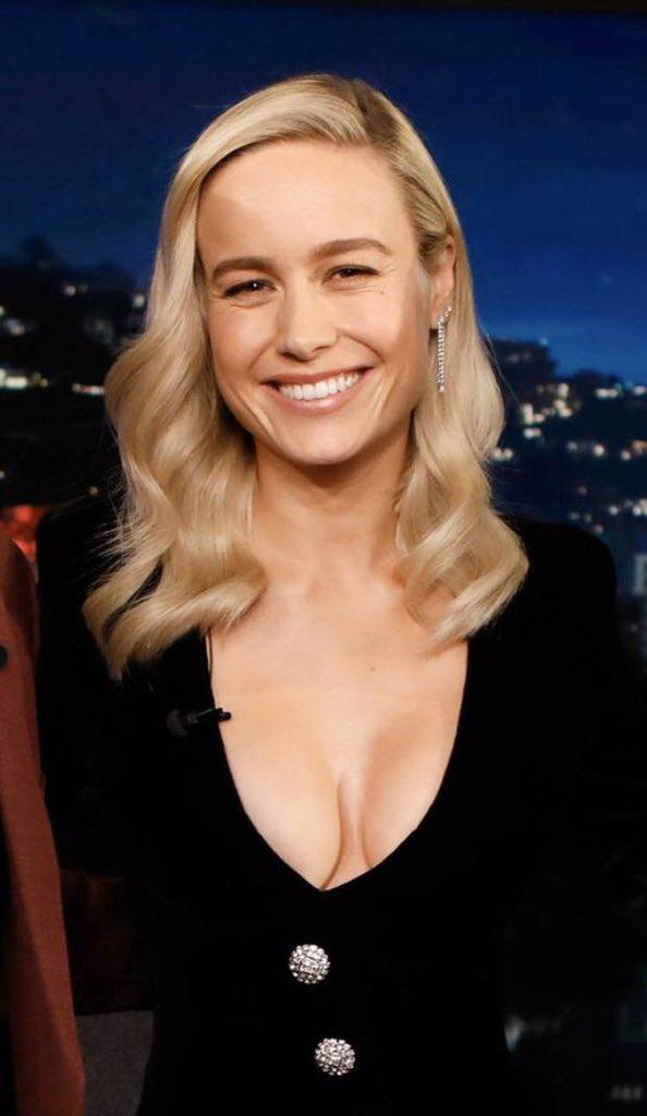 Brie Larson Hot Boob Show