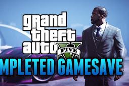 Save Game Complete 100% GTA 5 Versi PC/Laptop
