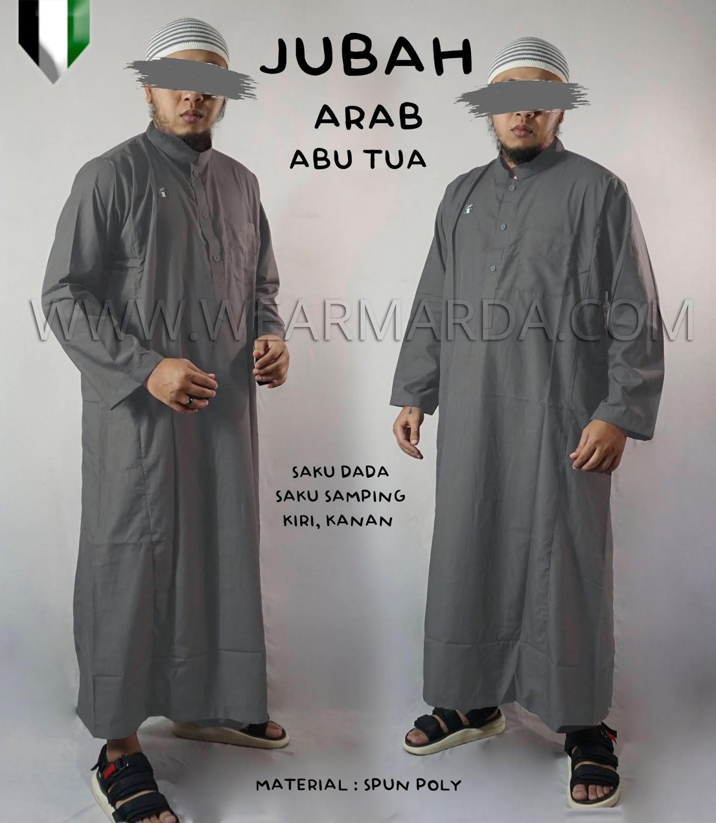JUBAH ARAB ABU TUA