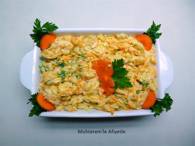 carrot salad with yogurt