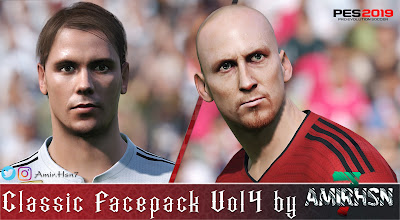 PES 2019 Classic Facepack Vol 4 by Amir.Hsn7