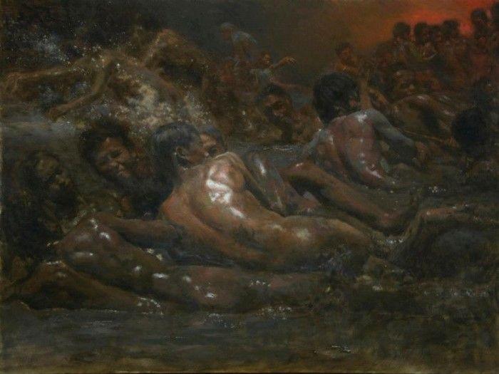 Филиппинский художник-реалист. Orley Ypon