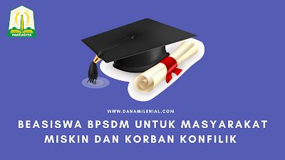 Beasiswa BPSDM Untuk Diploma Aceh Carong Bagi Masyarakat Miskin dan Korban Konflik dan Diploma 1 Agraria STPN