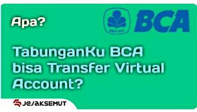 tabunganku bca tidak bisa transfer VC