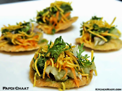 how to make palak papdi chaat
