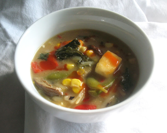 miso vegetable soup with paneer and noodles