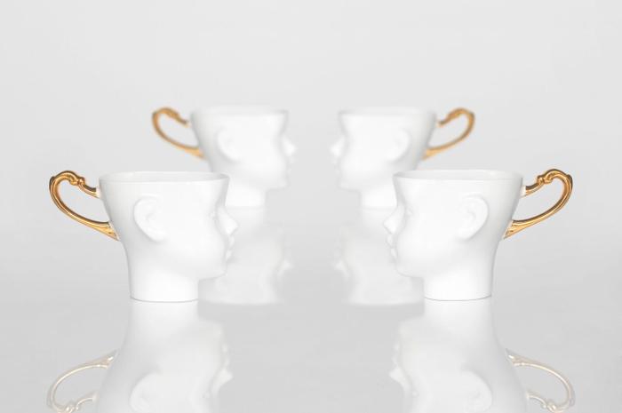ansikte mugg, muggar, kaffekopp, kaffe, kopp, koppar, vit, vita, ansikten, porslin, annelies design, webbutik, webbutiker, webshop, inredning,