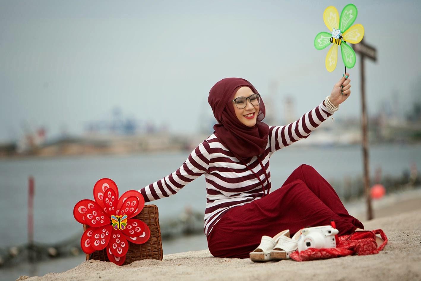 Kumpulan Model Baju Muslim Cantik Ala Zaskia Adya Mecca Cinuy Blog