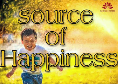 Source of happiness