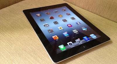 Dấu hiệu iPad 4 bị hỏng mặt kính