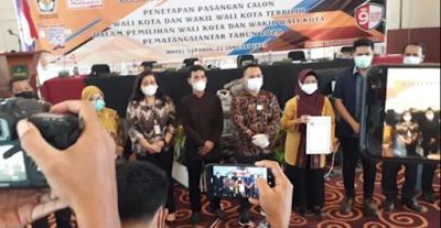 Penetapan Paslon Wako dan Wawako Siantar Terpilih, Putra Sulung Asner Silalahi Dampingi Susanti Dewayani