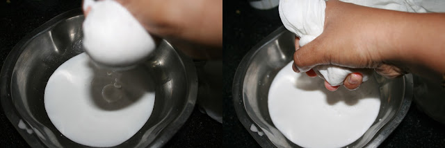How to extract milk from coconut | Coconut milk at home