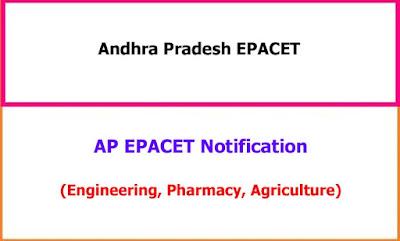 AP EPACET 2021 Notification