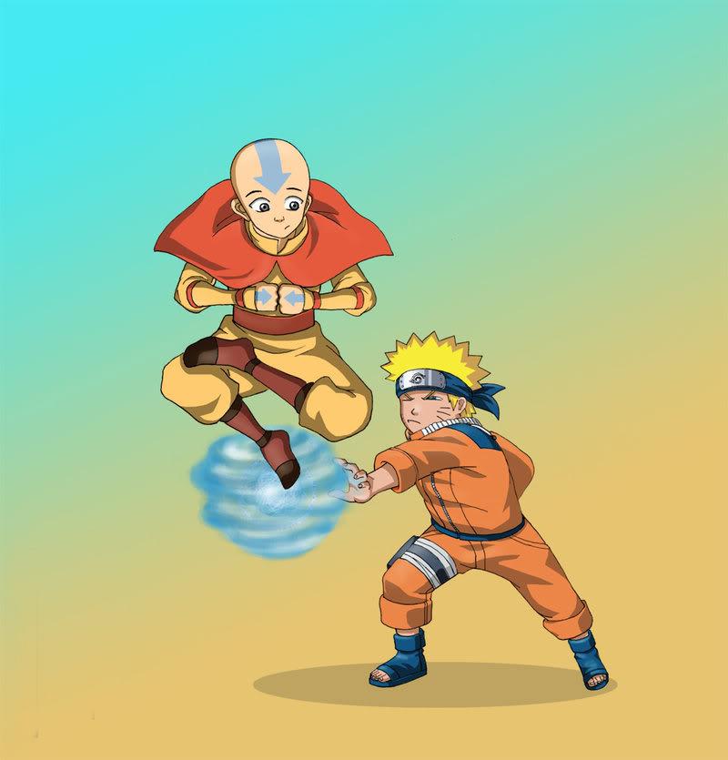 Naruto vs Avatar by free energy03 jpgNaruto Vs Avatar