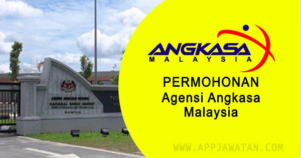 Jawatan Kosong di Agensi Angkasa Malaysia - 18 November 2018