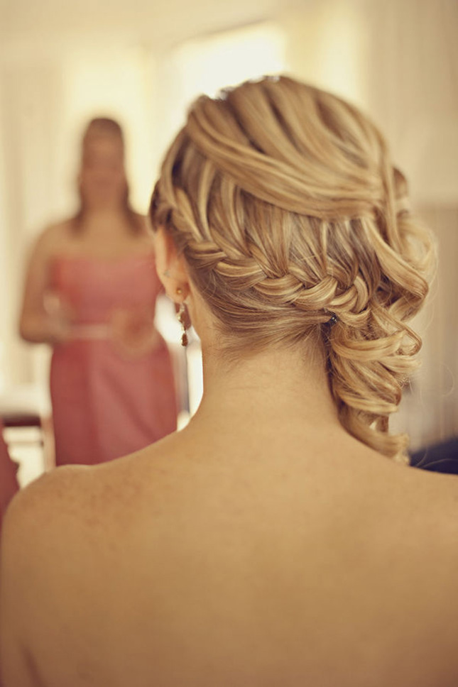 White Smile Wedding Trends Braided Hairstyles Part 2