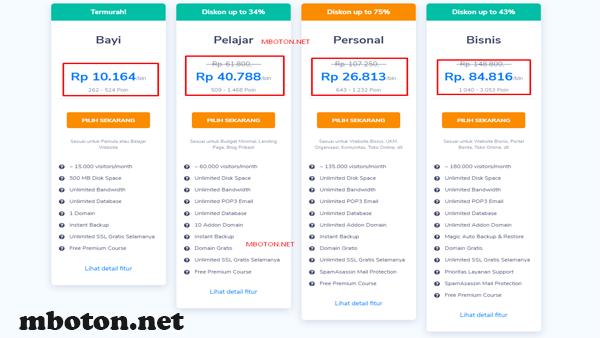 Niagahoster adalah layanan penyedia hosting dan domain baru untuk membangun website online wordpress E-Commerce lengkap admin konfigurasi Cpanel sudah terjamin kualitas yang hebat fiturnya sangat lengkap