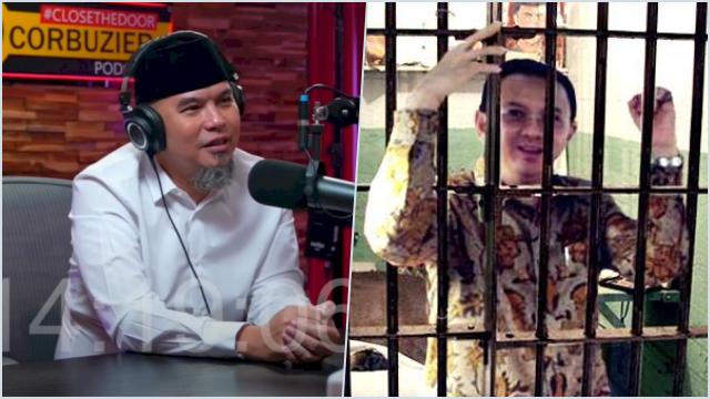 Serupa M Kece, Ahmad Dhani Ungkap Ahok juga 'Disambut' Kotoran Manusia saat di Rutan Cipinang
