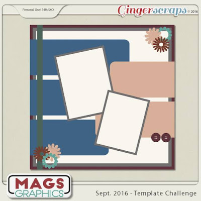 free template at Ginger Scraps