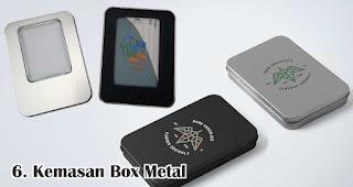 Kemasan Box Metal merupakan salah satu rekomendasi kemasan souvenir eksklusif dan menarik